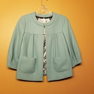 Anthropologie | Tabitha Swing Wool Jacket (Size 0)